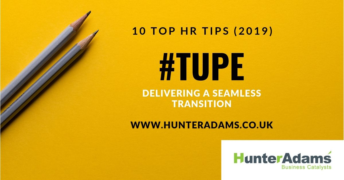 Our 10 Top Tips for TUPE Transfers